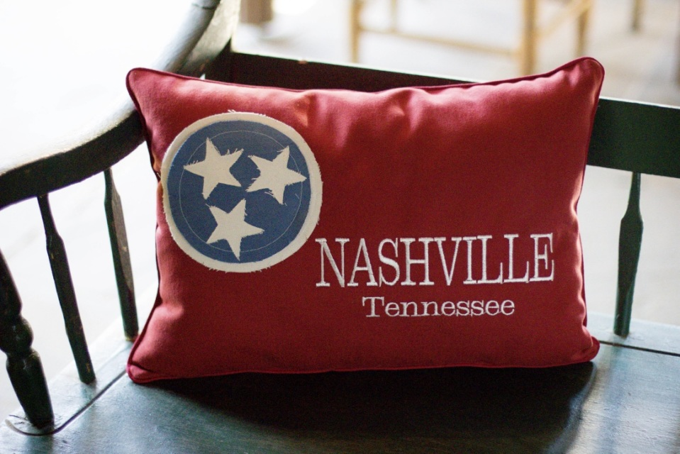 Throw Pillow Kit : Custom Sewn Tennessee Throw Pillows and Kits